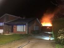 Houthalense wijkbewoners moeten huis verlaten door uitslaande brand in schuurtje