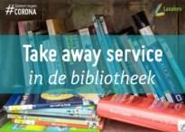 Take away service in de bibliotheek