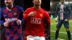 Messi, Ronaldo en Neymar blijven best betaalde voetballers