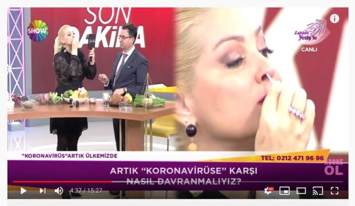 Thee van ajuin tegen corona: Turkse commerciële tv misleidt ook Belgische Turken