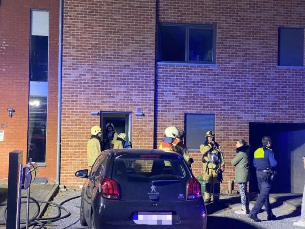 Brand tijdens wandeling bewoners: appartement onbewoonbaar