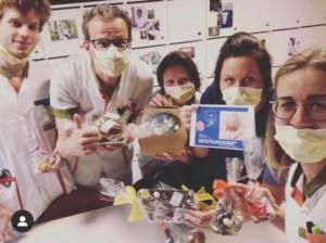 Chocolade, marsepein en koekjes voor kritieke diensten Jessa Ziekenhuis