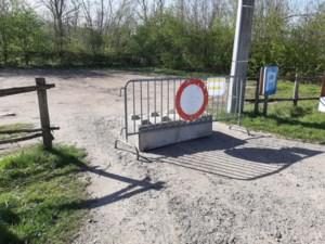 Parkings aan Bocholter wandelgebieden afgesloten