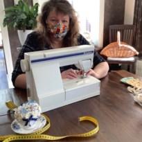 Naaimarathon Hechtel-Eksel levert 1.500 mondmaskers op