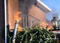 Uitslaande brand vernielt huis in de Pannestraat