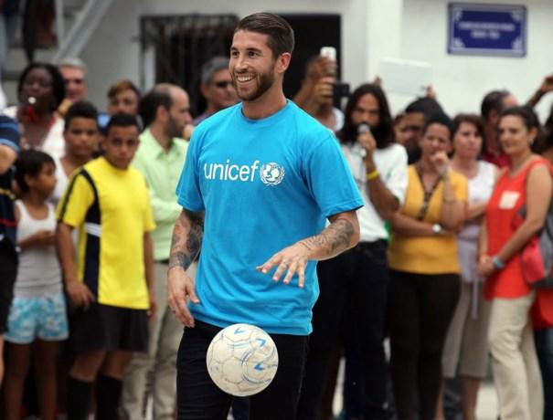Sergio Ramos schiet UNICEF te hulp voor aankoop materiaal