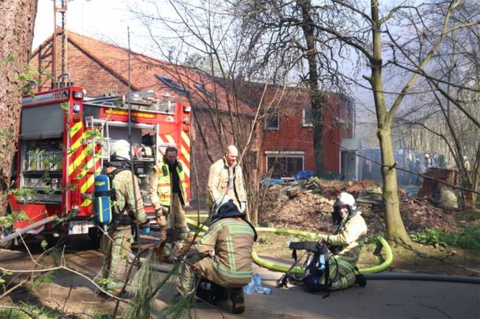 Veel rookontwikkeling bij woningbrand in Diest