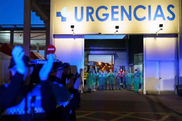 Opnieuw 655 doden op één dag in Spanje, al meer dan 4.000 sterfgevallen