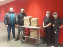 Huzur levert pizza's aan Ziekenhuis Maas en Kempen