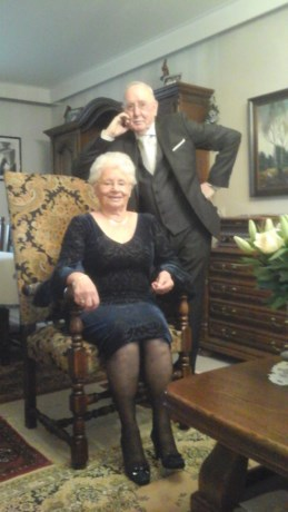 Maurice en Maria-Louise vieren diamanten bruiloft