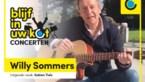 NIEUW. De blijf in uw kot-videoconcerten: deze week een exclusief optreden van Willy Sommers