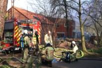 Brand in garage maakt huis onbewoonbaar