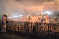 Brand vernielt gerenoveerde achterbouw