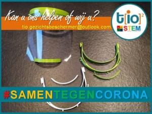 WICO TIO Pelt zoekt hulp om gezichtsbeschermers te maken
