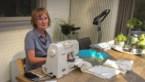 Rosette Spooren heeft al meer dan 400 mondmaskers gemaakt