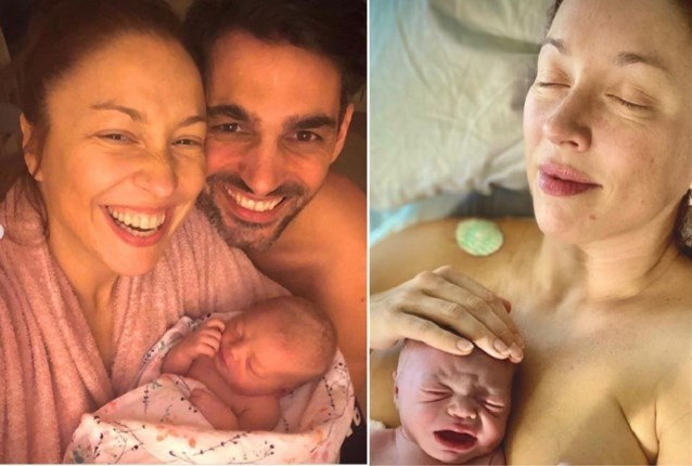 """Trotse Natalia deelt eerste video van dochter Bobbi-Loua: """"Je bent nu al een rockster"""""""