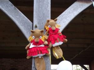 Kleuterschool Het Vliegerke organiseert Fabeltjeskranttocht vanop afstand