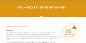 ZOL lanceert inzamelingsactie voor patiënten