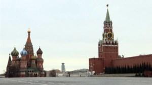 Unieke beelden: Moskou ligt er verlaten bij na de quarantainemaatregelen