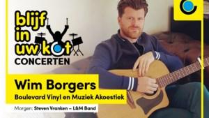 Wim Borgers trapt af als eerste artiest van onze 'Blijf in uw kot-concerten'