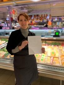Zorgverstrekkers Jessa verrassen met dankbrief