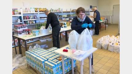Sint-Vincentius bedeelt pakketjes aan huis