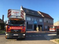 Brand in voormalige bakkerij in Loksbergen