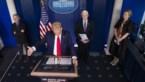"""Trump: """"Als we dodentol kunnen beperken tot 100.000, hebben we goed werk geleverd"""""""