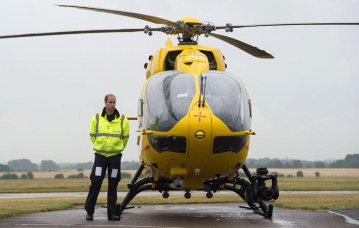Prins William wil ingezet worden als helikopterpiloot tijdens coronacrisis