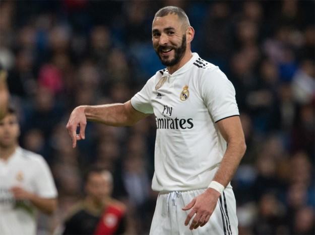 Karim Benzema rekent af met vervanger Olivier Giroud