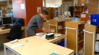 Afhaalservice in de bibliotheek van Zonhoven