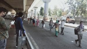 """Houthalenaar over lockdown in India: """"Velen hebben niet eens kot om in te blijven"""""""