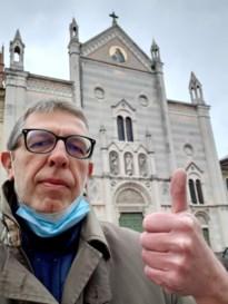 Kortessemnaar Dirk woont in Italiaanse broeihaard: