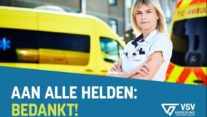 Limburgse coronahelden prijken op borden langs Vlaamse snelwegen