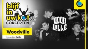 Blijf in uw kot-concert: Mowgli van Woodville hiphopt jullie het weekend in
