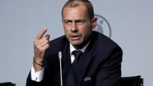 """UEFA-voorzitter houdt voet bij stuk: """"België riskeert uitsluiting in Europa"""""""