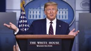 Trump: 'Mondmasker is aangeraden, maar ik zie het mezelf gewoon niet doen'