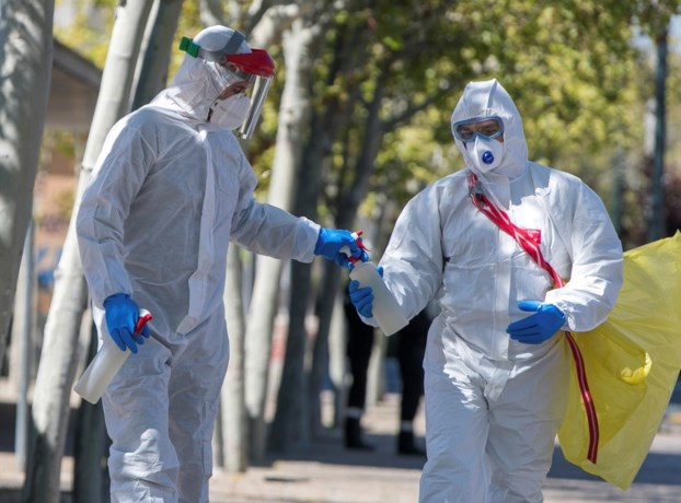 674 doden in 24 uur tijd in Spanje, derde daling op rij