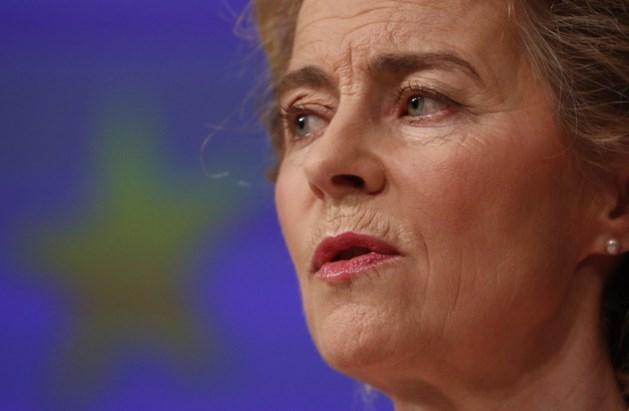 """Von der Leyen: """"We hebben een Marshallplan voor Europa nodig"""""""