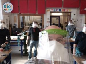 WICO TIO schakelt een versnelling hoger: 1800 gezichtsbeschermers op één week