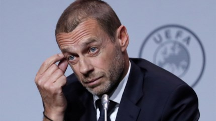 UEFA-voorzitter Aleksandar Ceferin zet deur open om Champions League af te werken in 'Final Four'