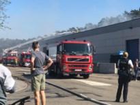 Uitslaande dakbrand bij bandencentrale in Heusden-Zolder