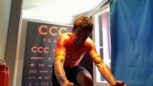 Greg Van Avermaet is de beste in eerste virtuele Ronde van Vlaanderen