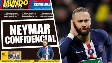 Hoe Barcelona wilde voorkomen dat Neymar naar Real Madrid zou trekken