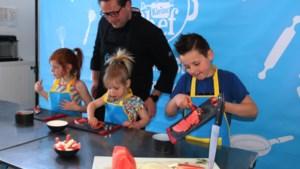 Dan toch kamp deze week: gratis kookcursus voor kleine chefs