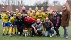 Dames Jong STVV C zijn kampioen maar promoveren niet