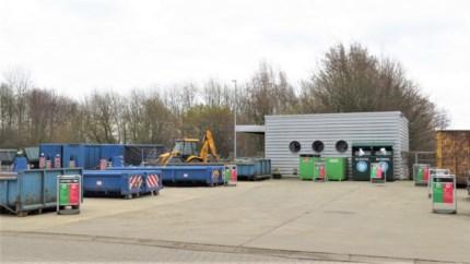 Verwachte drukte op recyclagepark blijft uit