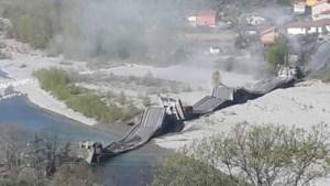 Opnieuw brug ingestort in Italië: slechts één gewonde door lockdown