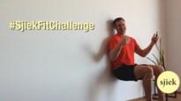 Doe de tweede #SjiekFitChallenge: even 'wall sitten' voor sterke bovenbenen