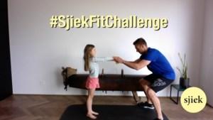 Doe de vierde #SjiekFitChallenge: sleur elkaar uit de zetel en pak een bal